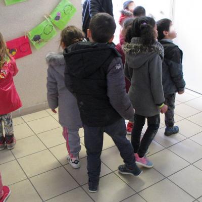 Grande Lessive 2018 Montpellier Celleneuve
